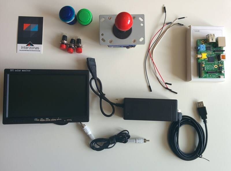 Interzonas labs for Conectar botones arcade a raspberry pi 3